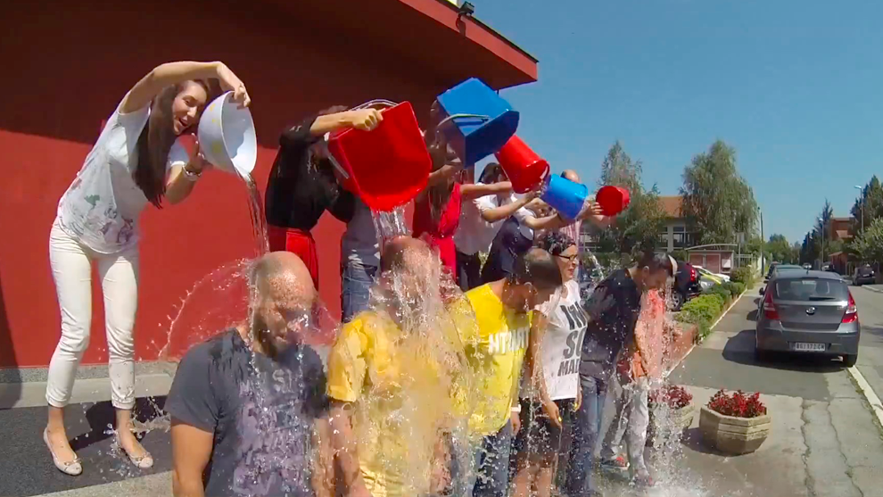 Leo Burnett Belgrade accepted and answered the #icebucketchallenge!