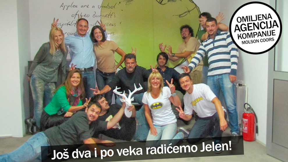 Leo Burnett Belgrade wins pitch for Jelen Beer!